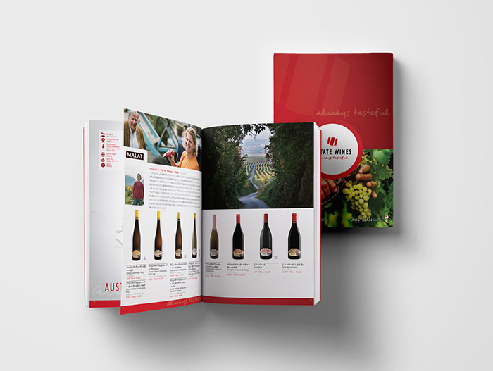 Web Design - Estate Wines Japan