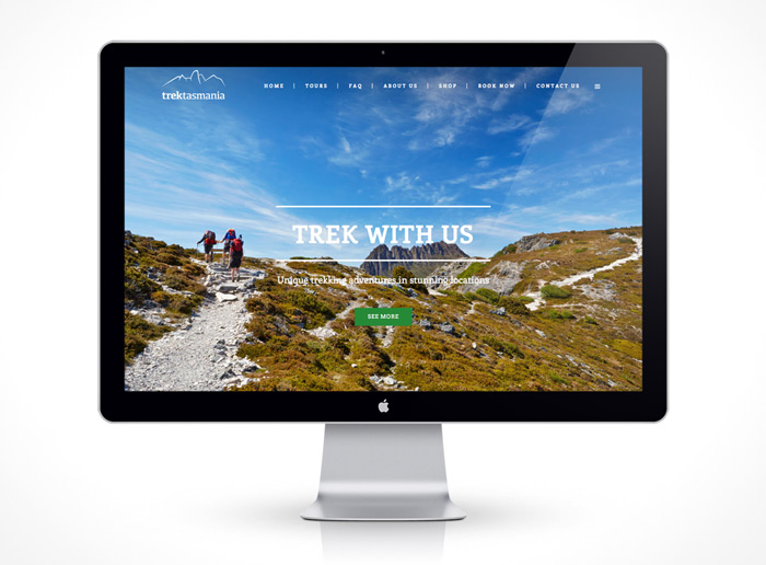 Web Design - Trek Tours Australia